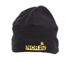Шапка Norfin Fleece (черная) р.L