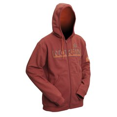 Куртка флисовая Norfin Hoody Red (терракот) XL